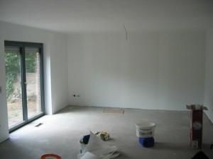 Wohnzimmer, tapeziert