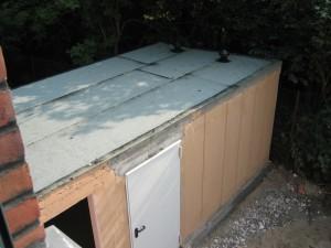 Decke Geräteraum