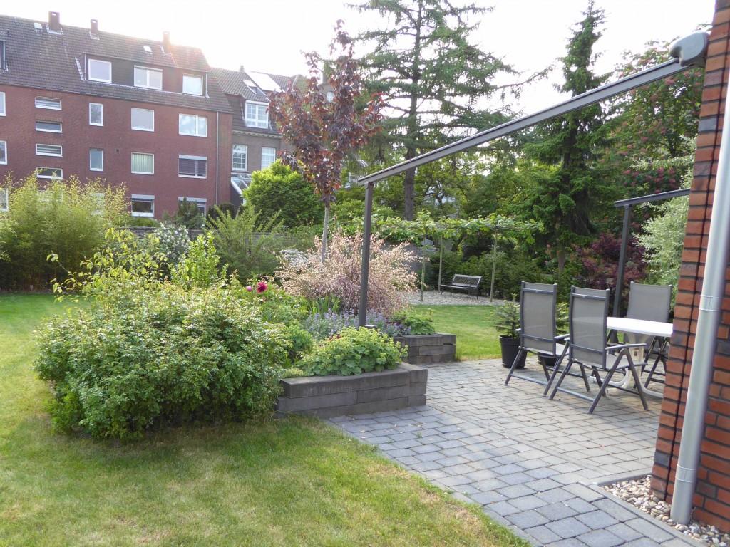 aktuelle Gartenansicht 2