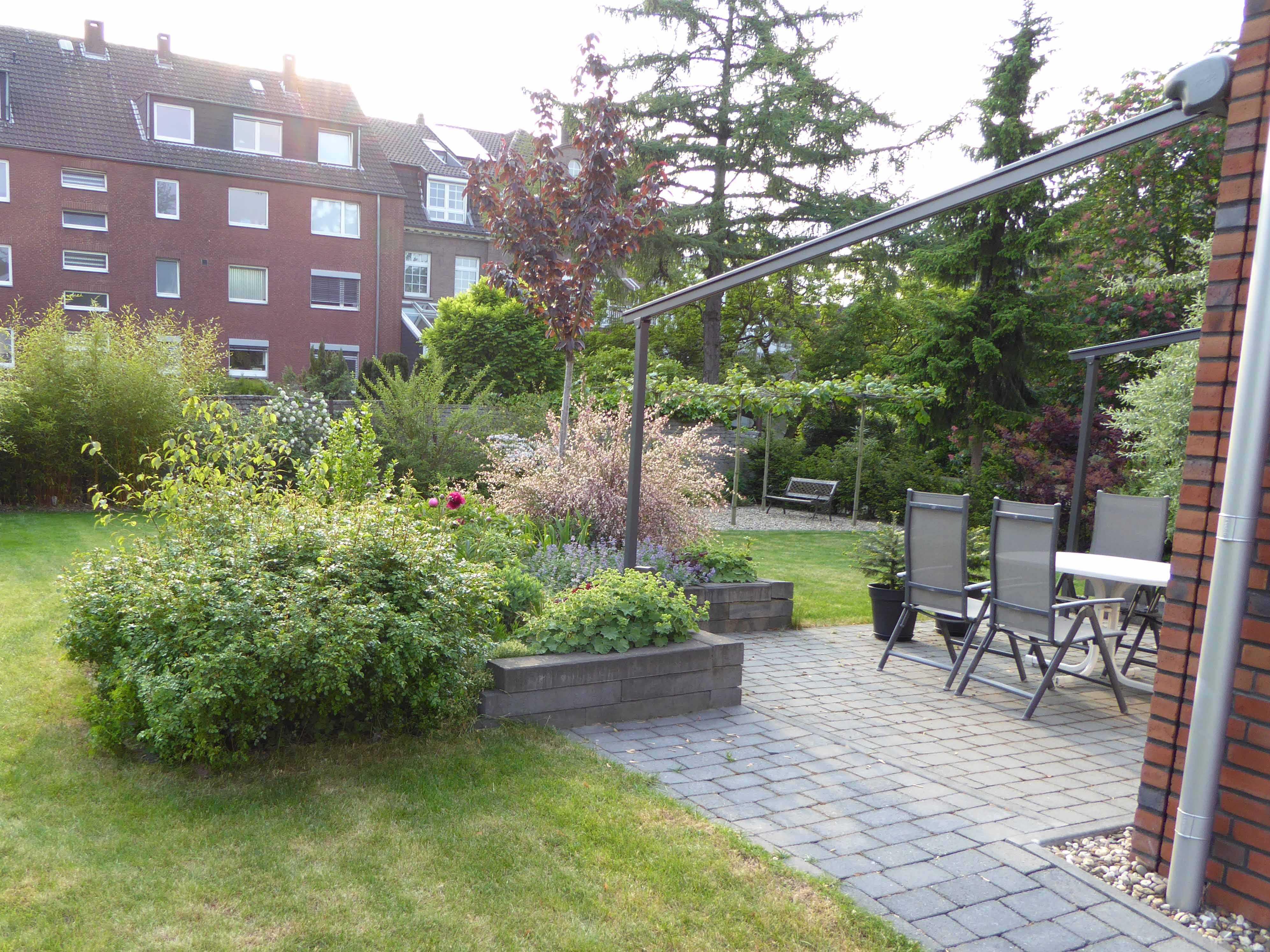 Bautagebuch for Gartengestaltung 100m2